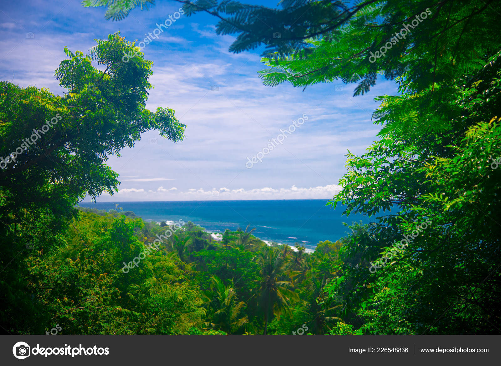 Landscape Bali Island Indonesia Bali Indonesian Island Known Tourist