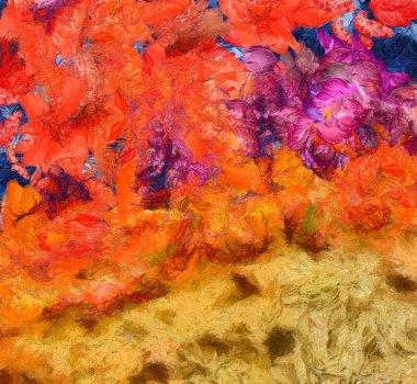 """Картина, постер, плакат, фотообои """"абстрактная художественная фактура фона. грязный рисунок для графики картина постеры все"""", артикул 315754656"""