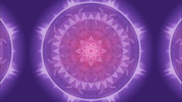 Pastel barevný kaleidoskop bezešvé smyčka pro odpočinek