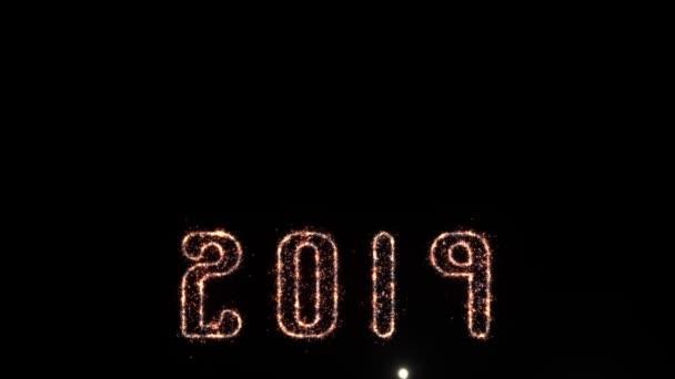 2019 silvestrovská oslava s ohňostrojem