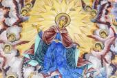 Křesťanské ikony zdobující kostel, náboženské umění