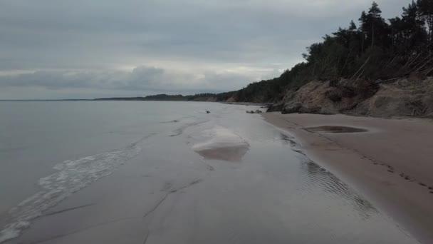Küste Ostsee Jurkalne Luftaufnahme Lettland