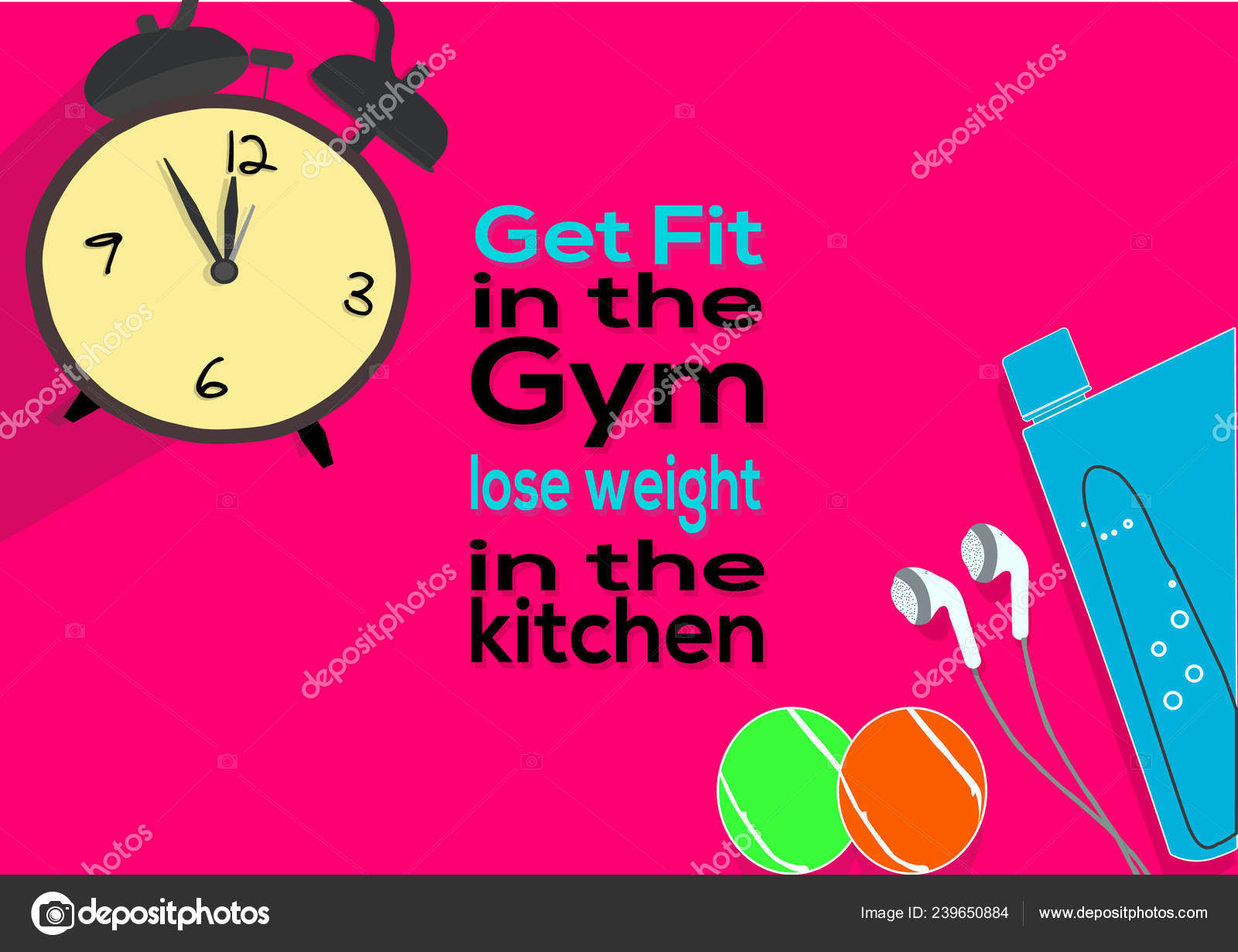 Ponte Forma Gimnasio Bajar Peso Cocina Frases Motivación