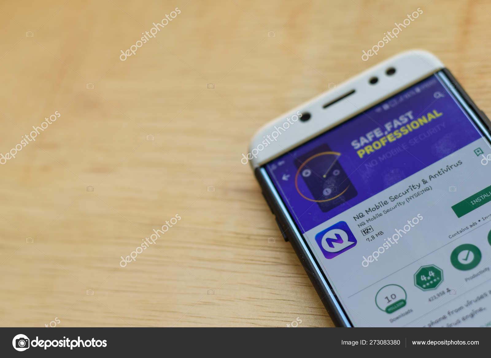 BEKASI, WEST JAVA, INDONESIA  JUNE 3, 2019 : NQ Mobile Security