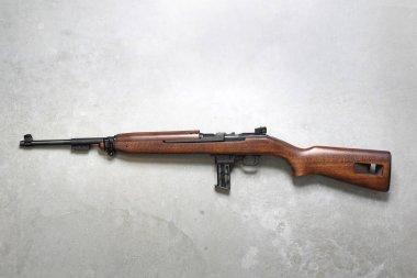 Windbreaker. Windbreaker, rifle on a gray background. stock vector