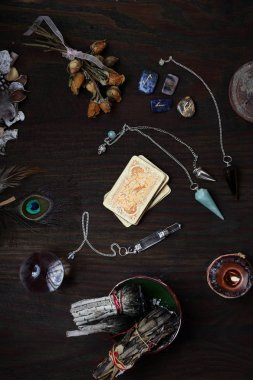Pendulums, runes and a deck of cards. A visit to the fortune-teller