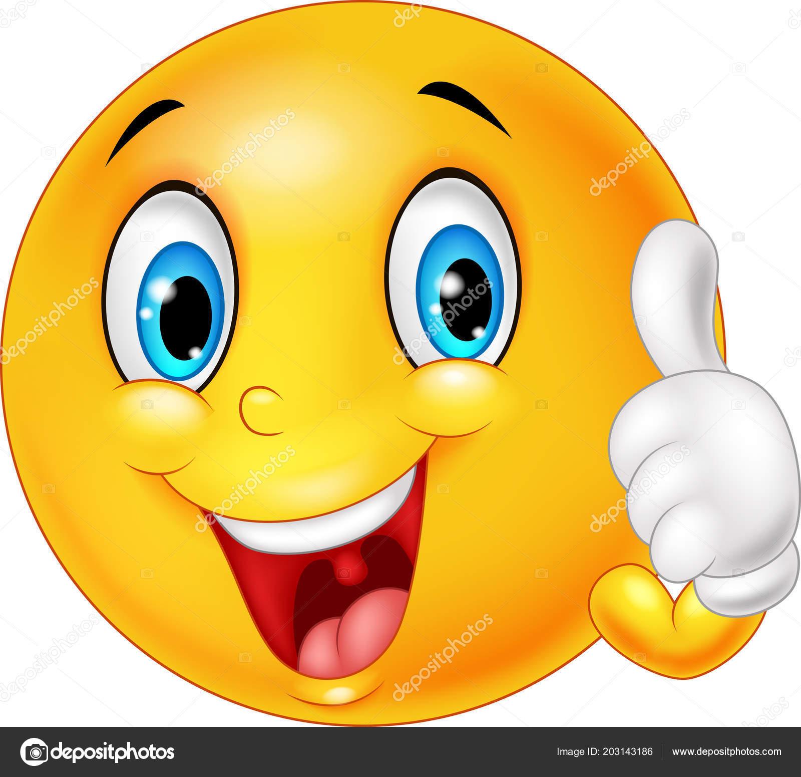 Emoticon smiley heureux abandonner pouces image vectorielle tigatelu 203143186 - Image sourire gratuit ...