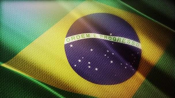 Brazilská vlajka 3d