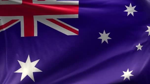 Flag of Australia Loop