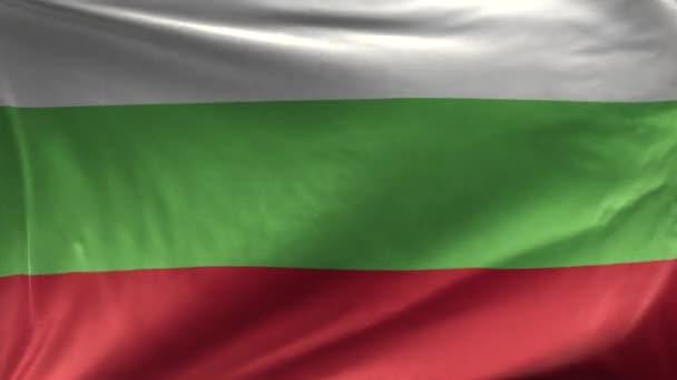 Flag of Bulgaria Loop 3D
