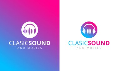 Classic Sound Logos, simply illustration stock vector