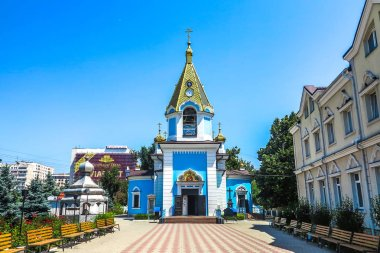 Chisinau Ciuflea Monastery Saint Theodore Tyro Main Church Frontal View