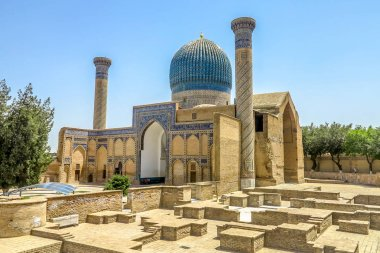 Samarkand Gur-e Amir Mausoleum 01