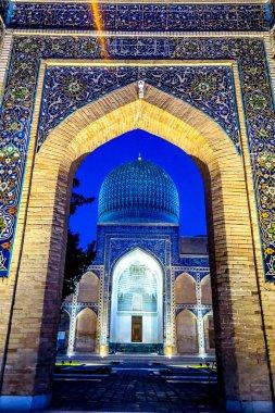 Samarkand Gur-e Amir Mausoleum 27