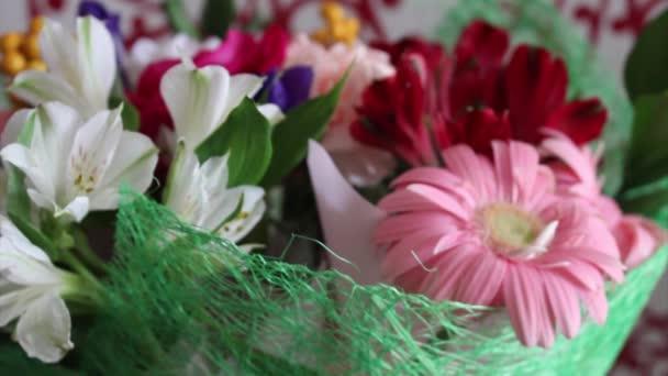 Beautiful bouquet of flowers wedding