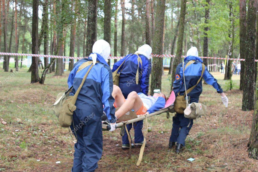 Nursing Competition, Civil Defense