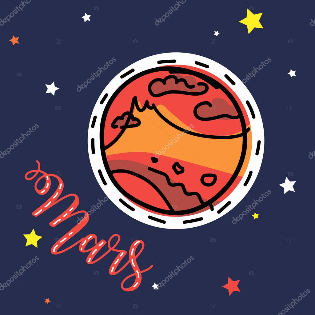 Mars Planet Space