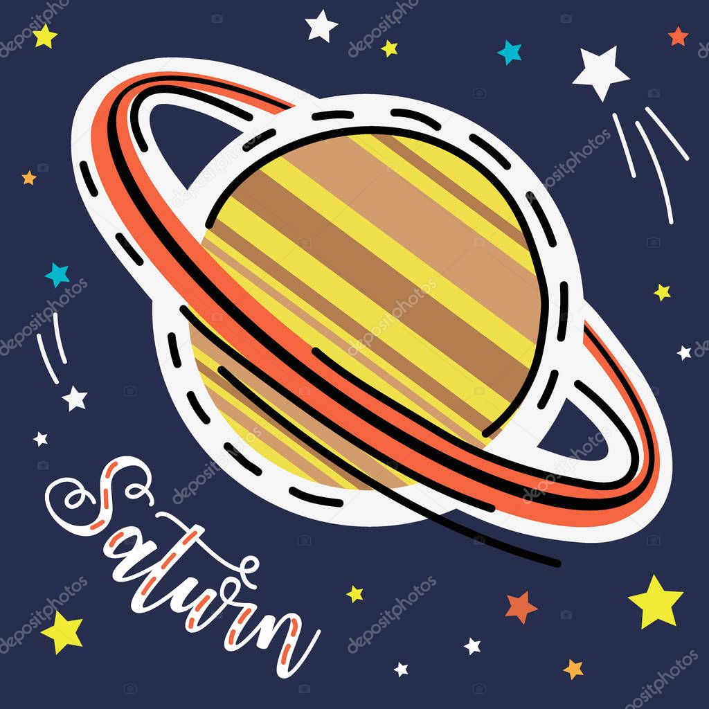 Saturn Planet Space