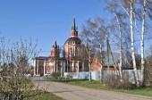 die der St.-Nikolaus-Kirche im Dorf von Tsarevo Puschkin Bezirk des Moskauer Gebiets. Russland.