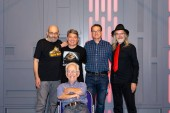 FUERTH, Germany - September 22nd 2018: John Coppinger, Dave Barclay, Jez Harris, Toby Philpott and Mike Edmonds at Noris Force Con 5, a three day star wars fan convention for charity