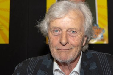 FRANKFURT, GERMANY - MAY 6th 2018: Rutger Hauer (*1944, actor, Blade Runner, The Hitcher, Nighthawks) at German Comic Con Frankfurt, a two day fan convention
