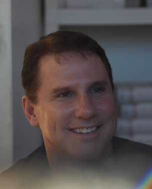Frankfurt, Germany. 14th Oct, 2017. Nicholas Sparks (* 1965), US writer, at a book signing in Frankfurt Bookfair / Buchmesse Frankfurt 2017