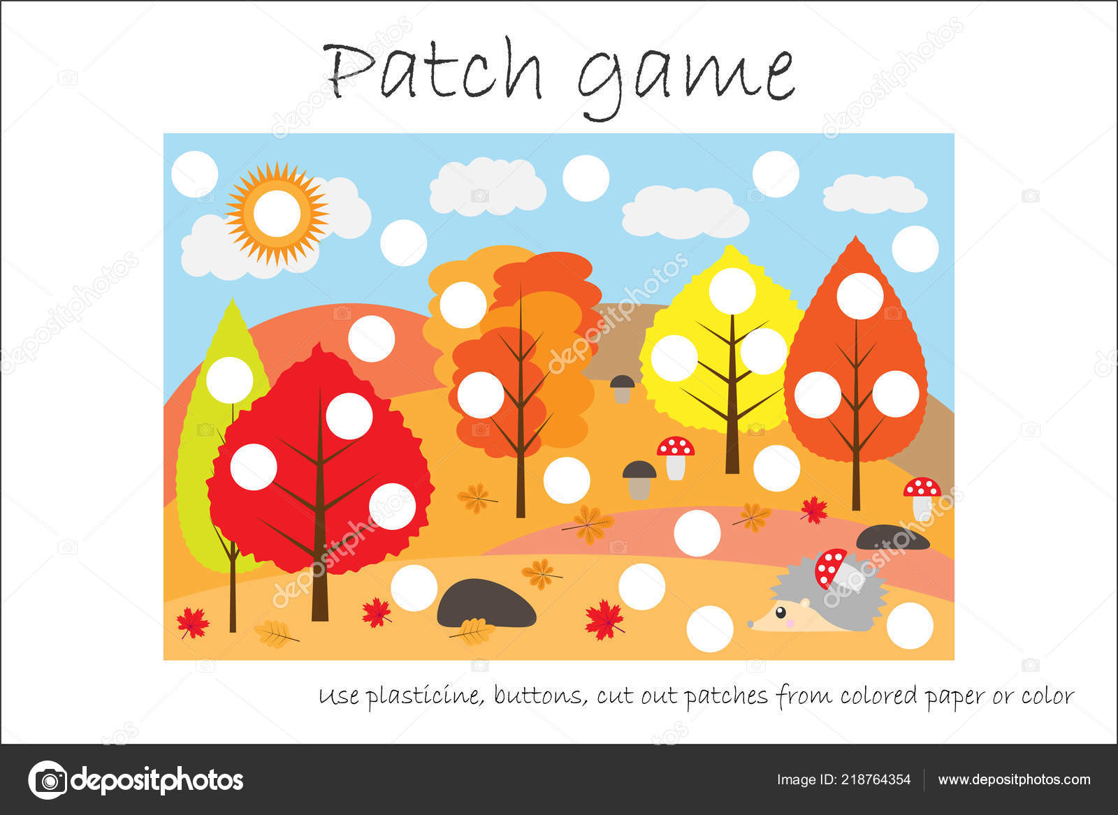 graphic about Printable Patches titled Instruction Patch Activity Forest Kids Build Engine Abilities