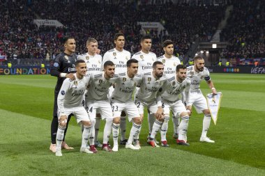 MOSCOW, RUSSIA - , 02.10.2018: The UEFA Champions League game at Luzhniki stadium, CSKA - Real Madrid.