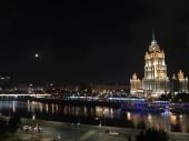 Világos éjszaka Moszkvában, a nyár folyamán