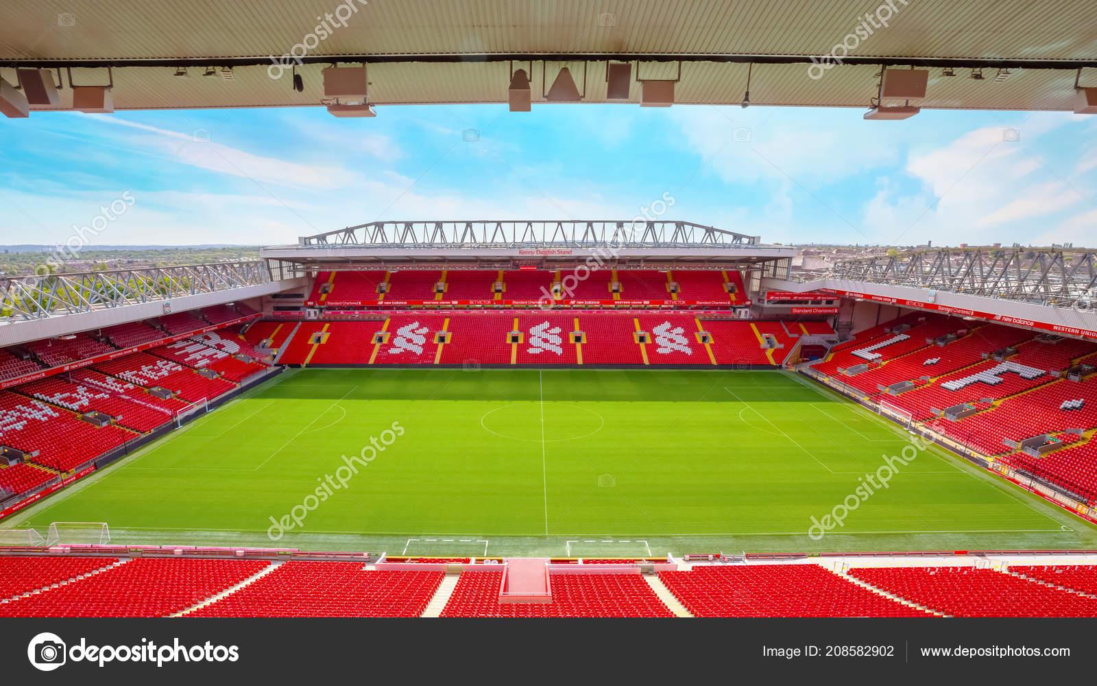 Liverpool United Kingdom May 2018 Anfield Stadium Home Ground Liverpool - Stock Editorial Photo ...