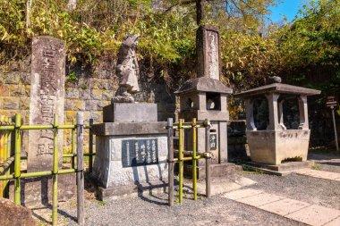 The grave site of Byakkutai (White Tiger Force) at Mt. Iimori, in Aizuwakamatsu, Japan
