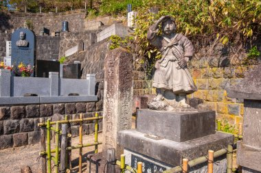 The grave site of Byakkutai (White Tiger Force) at Mt. Iimori, young teenage samurai who fought and committed suicide in the Boshin war