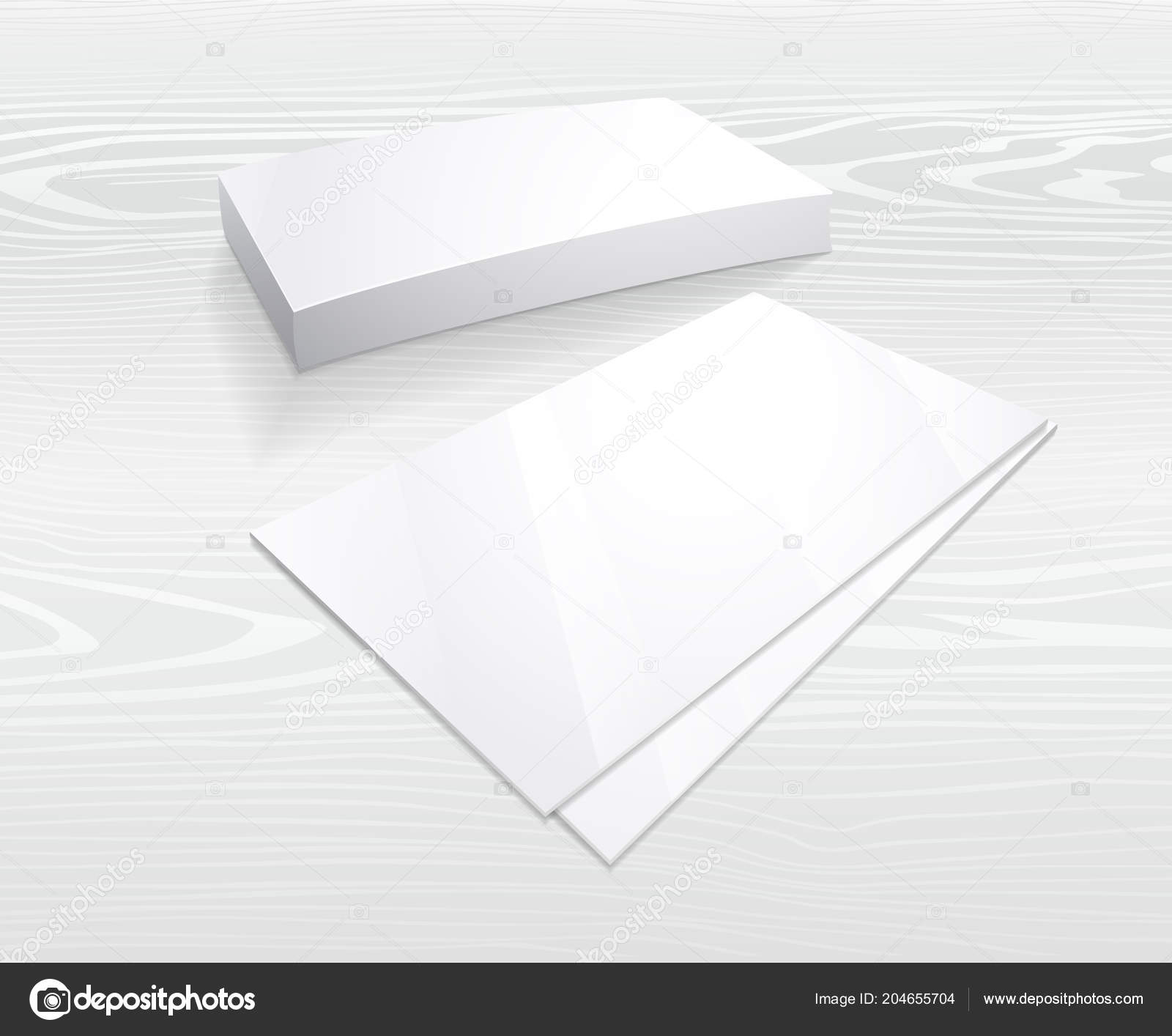 Business card mockup blank template simple white design vector business card mockup blank template simple white design vector business vetores de stock reheart Choice Image