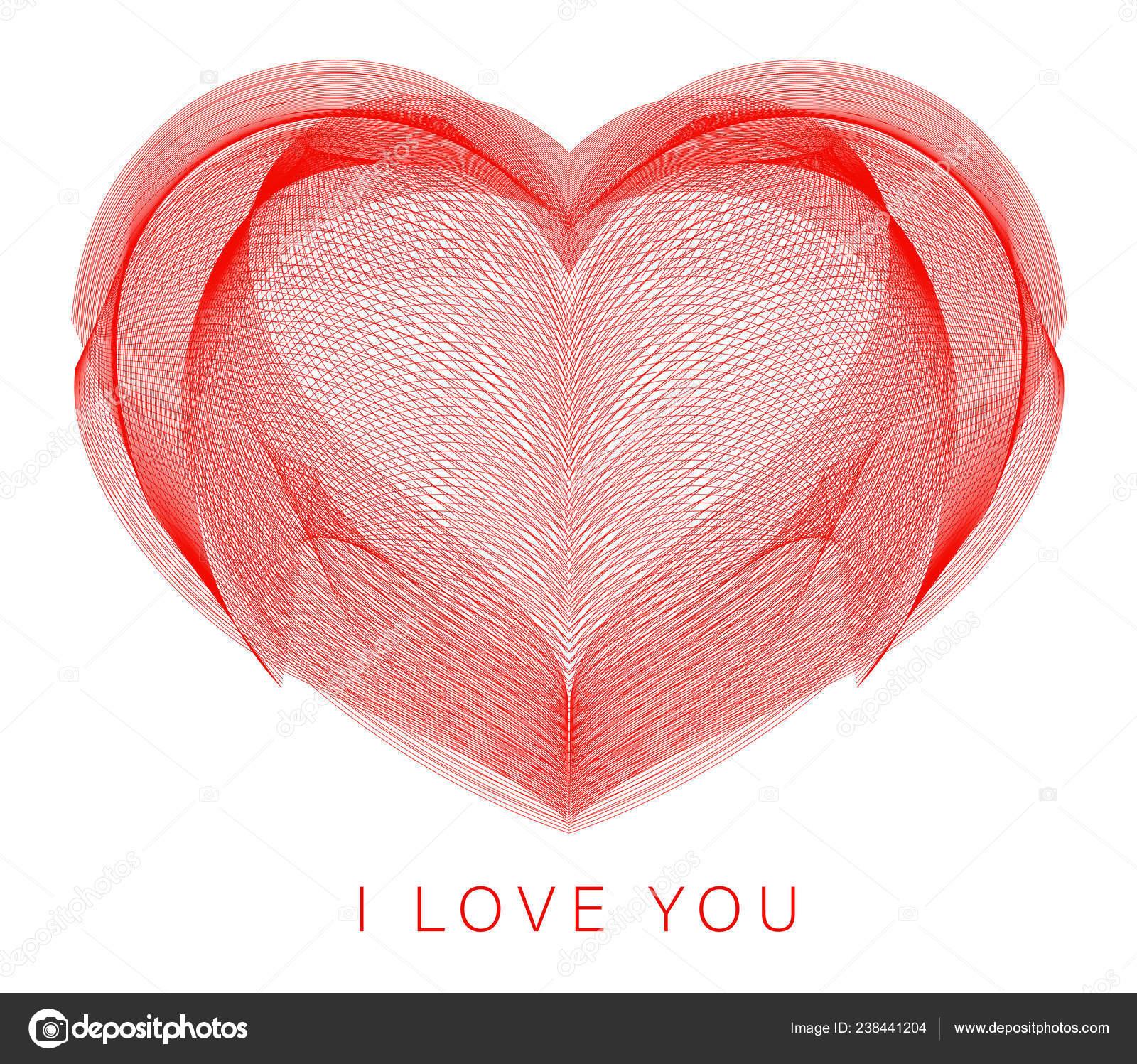 Heart Abstract Art Love