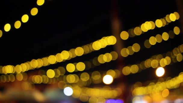 There is a hanging lamp in town, its hanging above and make it beautiful, i make it blurred because its nice and looks more vintage