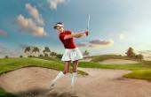 Profesionální golfistka