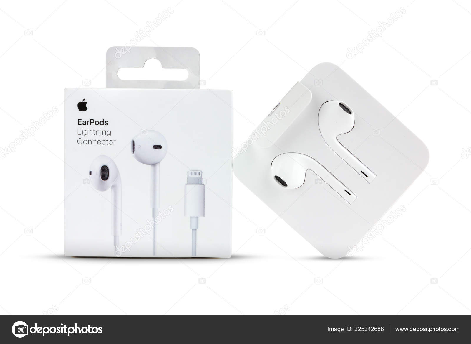 Connector lightning earpods apple with