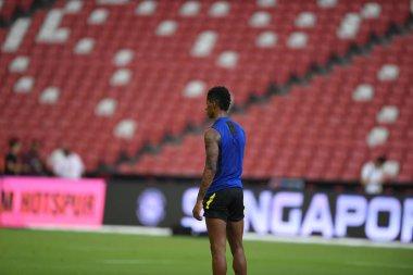 Kallang-singapore-19jul2019:Marcus rashford #10 player of manche