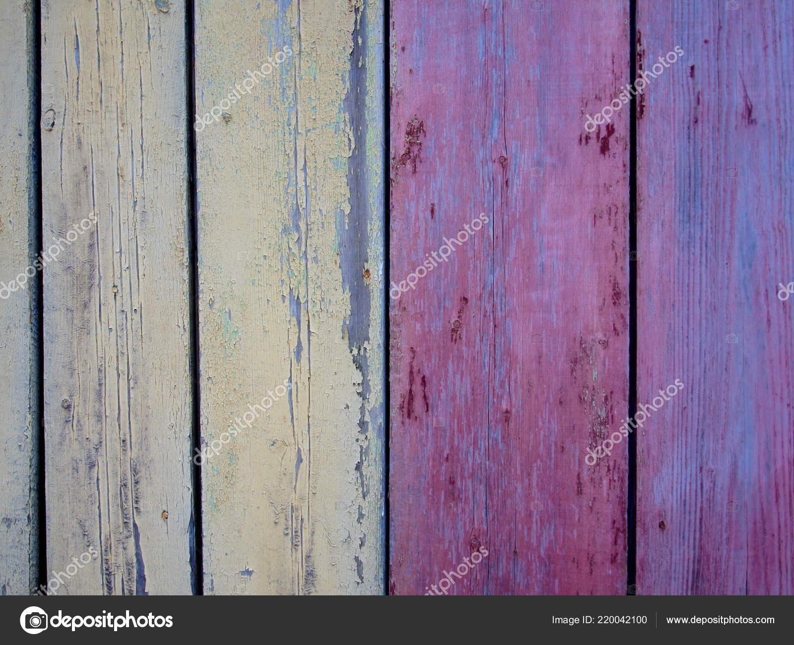Antiguas Puertas Madera Estan Pintadas Diferentes Colores Naturales
