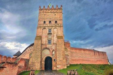 Medieval castle in the city of Lutsk (Ukraine).