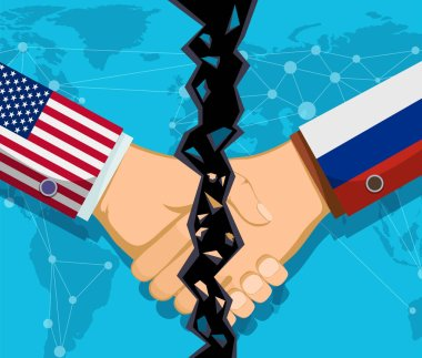 Trade war policy between the USA and Russia