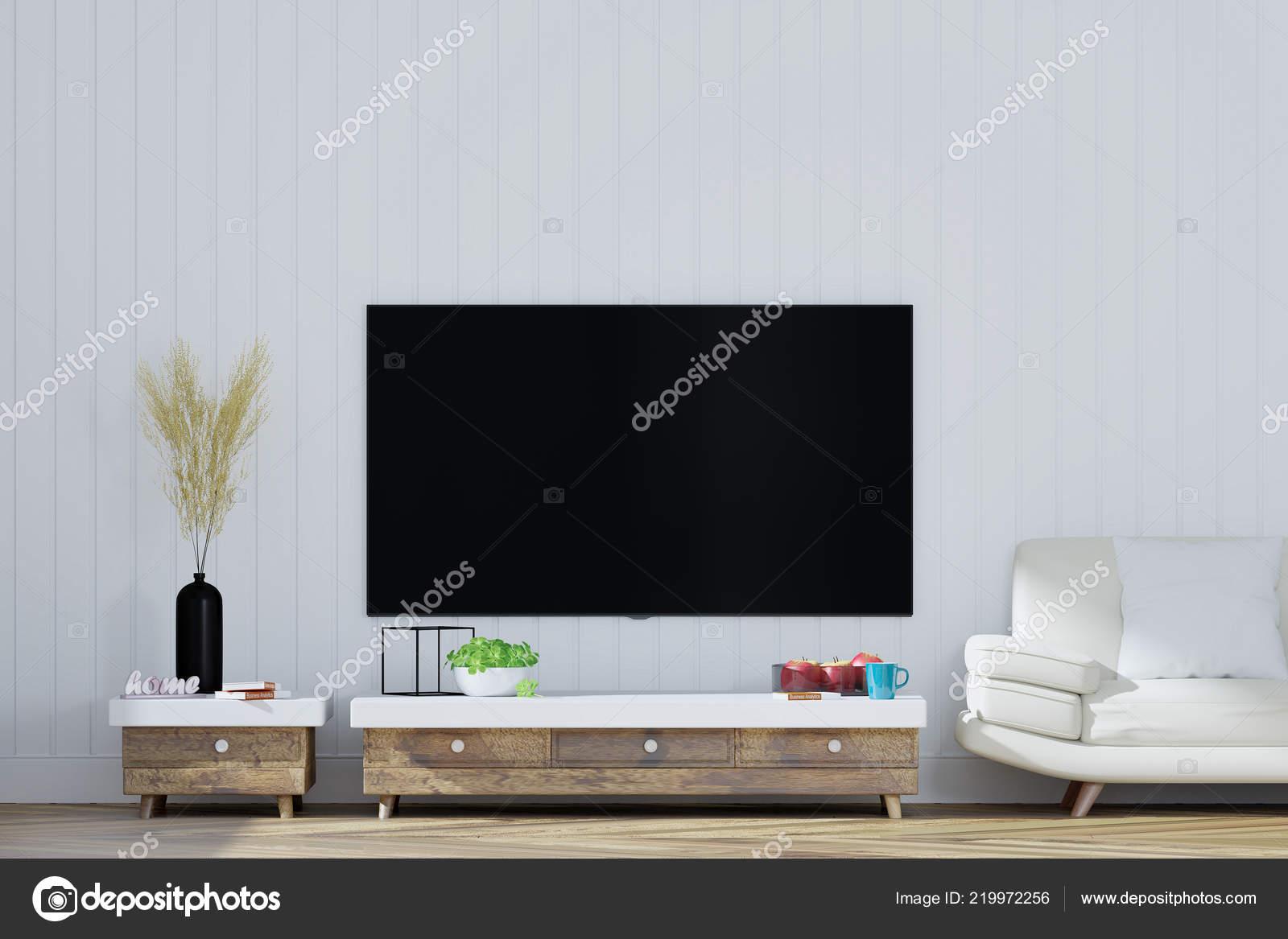 Auf Dem Schrank Wohnzimmer Rendering — Stockfoto © Mavas_Bd #219972256