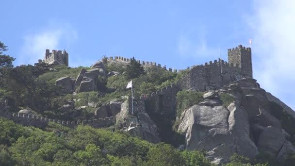 Castello europeo sulla collina