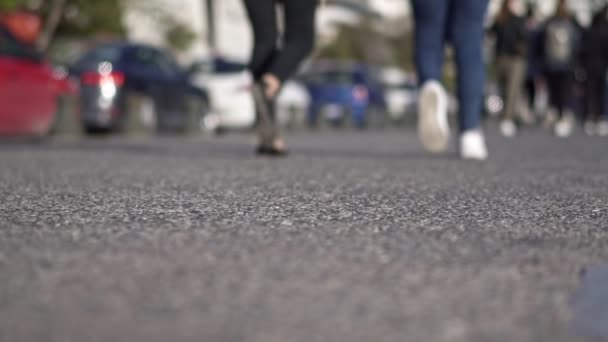 Commuters, People walking in the city, Slow Motion