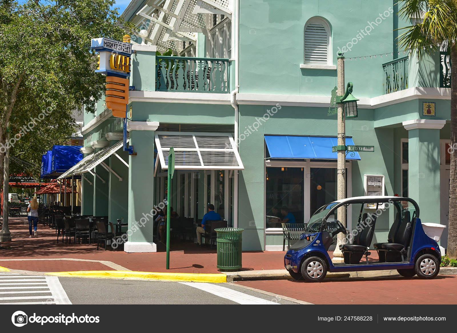 Orlando Florida January 2019 Market Street Cafe Style