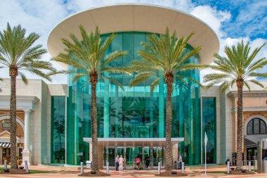 Orlando, Florida. June 6, 2019 . Main entrance to The Mall at Millenia 1.