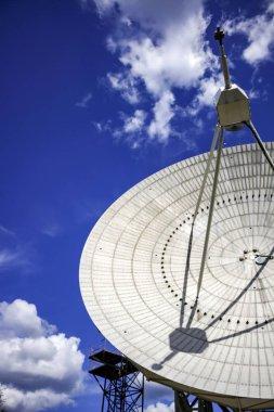 Radio telescopic antenna round