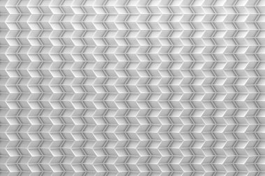 Black and white wireframe on top of 3d pattern surface