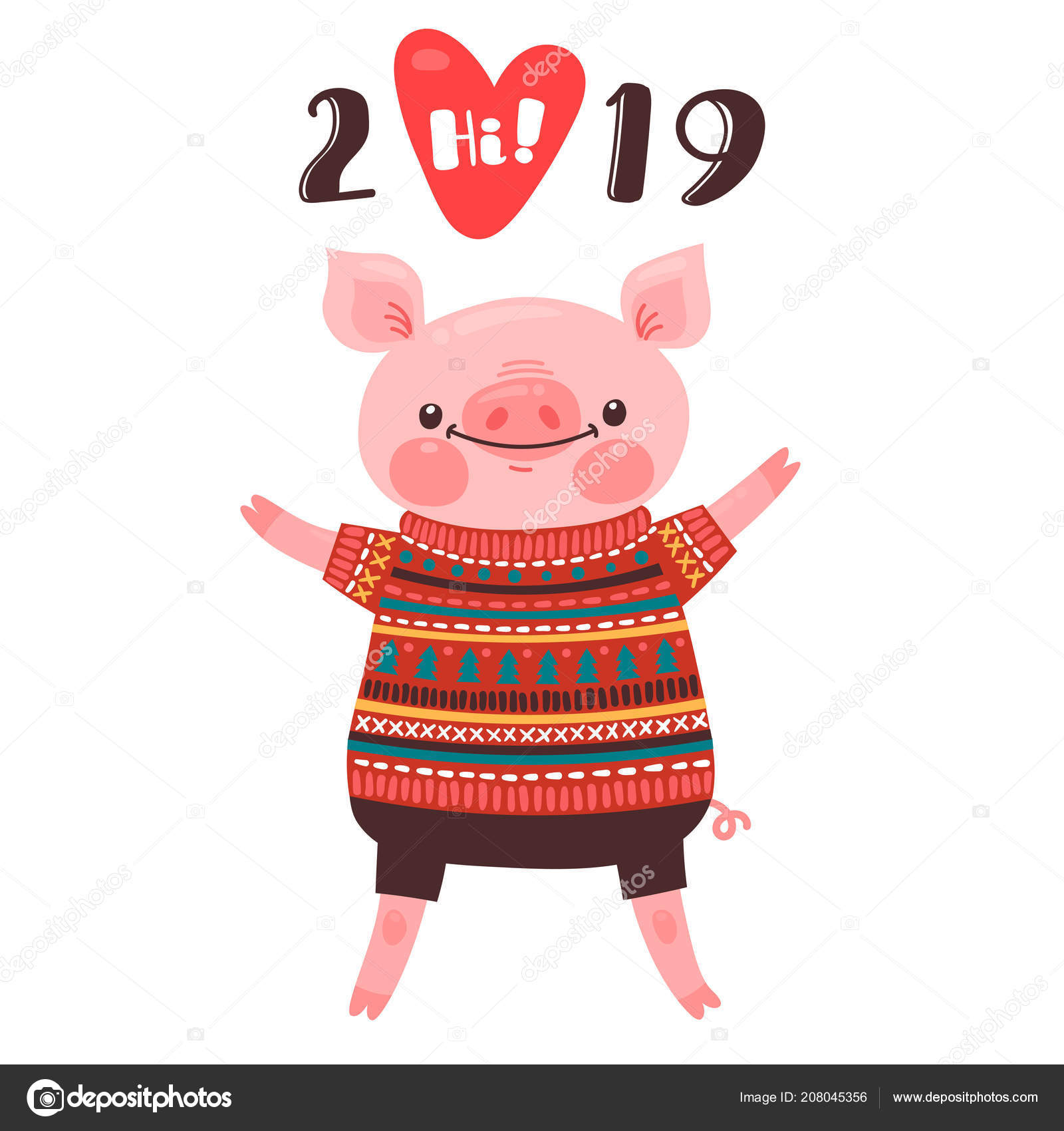 depositphotos_208045356 stock illustration 2019 happy new year cardjpg