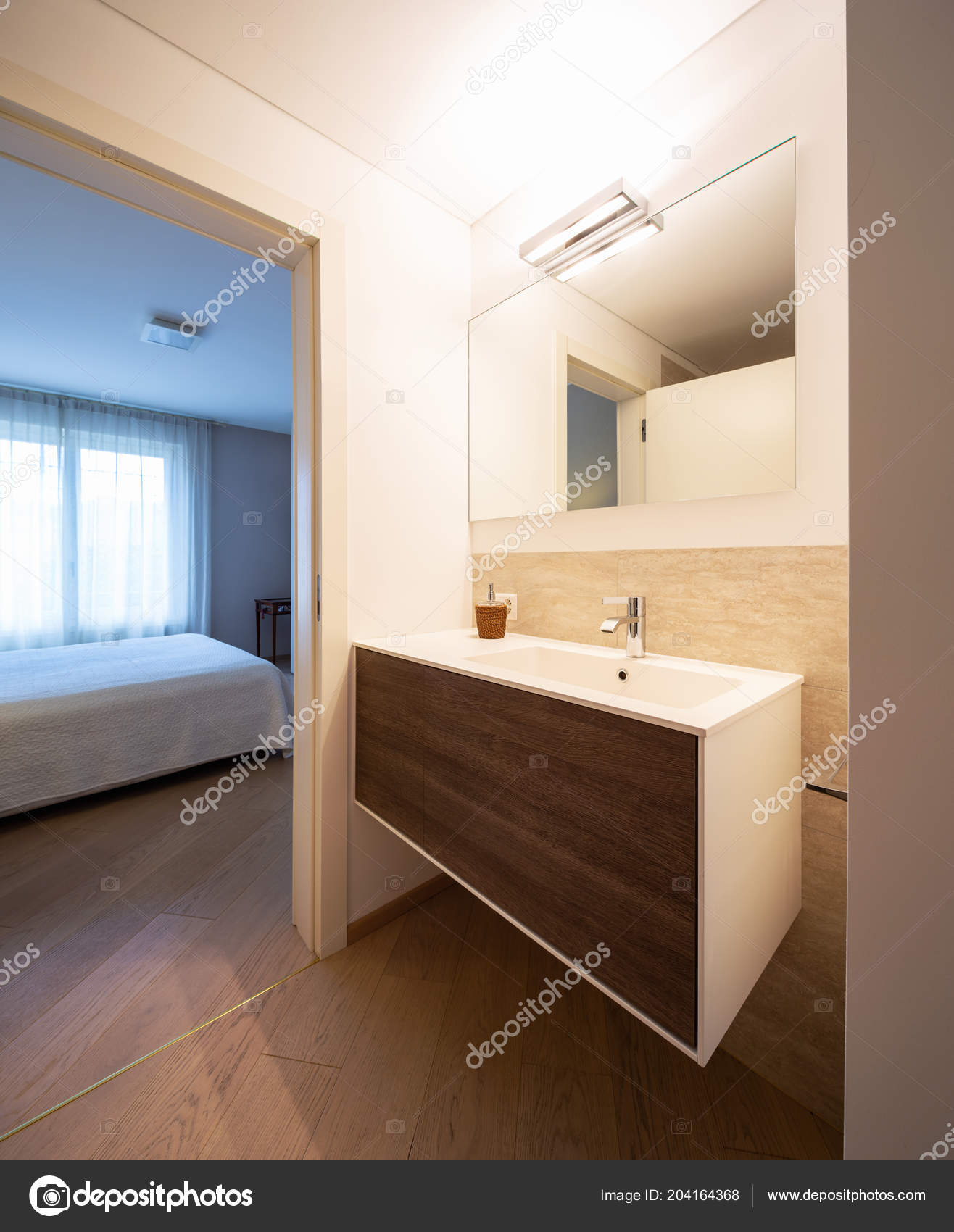 Bagno In Marmo Moderno